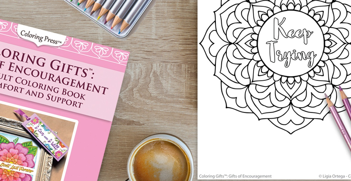 Coloring Press: Adult Coloring Books - Grayscale, Inspirational, Kaleidoscopes, and More