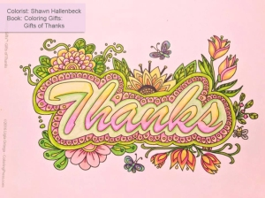Coloring Gifts: Gifts of Thanks colored by Shawn Hallenbeck