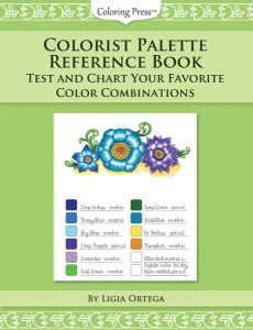 Colorist Palette Reference Book - Test and Chart Your Favorite Color Combinations