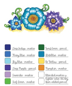 Colorist Palette Reference Book Test and Chart Your Favorite Color Combinations