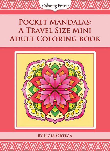 Pocket Mandalas: A Travel Size Mini Adult Coloring Book