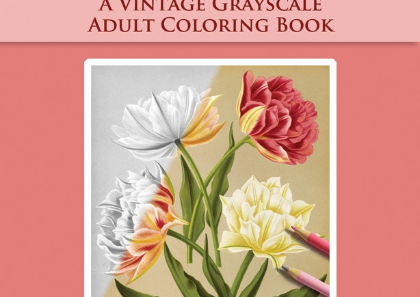 Arentine H. Arendsen's Dutch Flowers Coloring Book